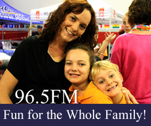 Family Fun at the 96.5FM Live Broadcast