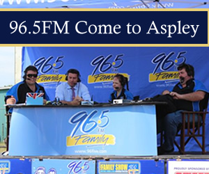 96.5FM Broadcast Live from Aspley - 1 April