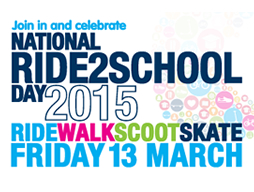 National Ride 2 School Day - 13 March