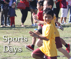 Sports Days - 23, 25 and 26 June