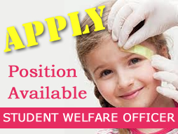 Position Available - Student Welfare Officer