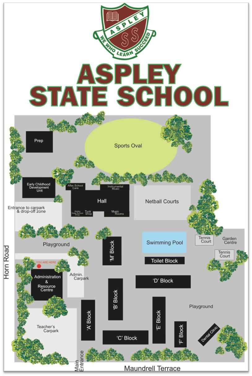 map of Aspley State School